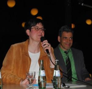 Professor Saskia Wendel und Dr. Lothar Moschner