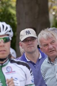 Andre Stinka bei den Landesmeisterschaften 2011 im Radsport