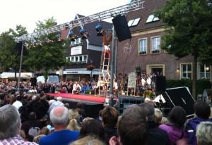 Akrobatik beim Dülmener Sommer